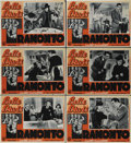 "Movie Posters:Drama, Dark Victory (Warner Brothers, R-1946). Italian Photobusta (10)(13.5"" X 19""). ... (Total: 10 Items)"