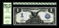 Large Size:Silver Certificates, Fr. 235 $1 1899 Silver Certificate Serial Number 1 PCGS Very ChoiceNew 64PPQ....
