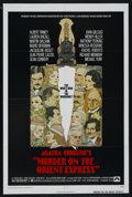 "Movie Posters:Mystery, Murder on the Orient Express (Paramount, 1974). One Sheet (27"" X41""). Mystery. Starring Albert Finney, Lauren Bacall, Marti..."