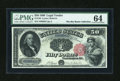 Large Size:Legal Tender Notes, Fr. 164 $50 1880 Legal Tender PMG Choice Uncirculated 64....
