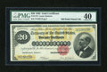 Large Size:Gold Certificates, Fr. 1178 $20 1882 Gold Certificate PMG Extremely Fine 40....