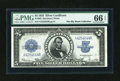 Large Size:Silver Certificates, Fr. 282 $5 1923 Silver Certificate PMG Gem Uncirculated 66 EPQ....