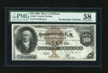 Large Size:Silver Certificates, Fr. 287 $10 1880 Silver Certificate PMG Choice About Unc 58....