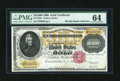 Large Size:Gold Certificates, Fr. 1225c $10000 1900 Gold Certificate PMG Choice Uncirculated64....