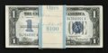 Small Size:Silver Certificates, Fr. 1606 $1 1934 Silver Certificates. Pack of 100 Consecutive Notes. Very Choice Crisp Uncirculated.. ... (Total: 100 notes)