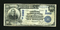 National Bank Notes:Kentucky, Lebanon, KY - $10 1902 Date Back Fr. 618 The Citizens NB Ch. #(S)3988. ...