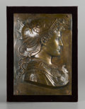Bronze:European, A PAIR OF BRONZE PLAQUES. Late 19th-Early 20th Century. 19 x 13-1/2x 3 inches (48.3 x 34.3 x 7.6 cm) each. ... (Total: 2 Items)