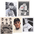 Autographs:Photos, Detroit Tigers Signed Photographs Lot Of 10....