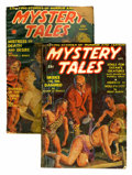 Pulps:Horror, Mystery Tales Group (Red Circle, 1939-40) Condition: Average GD....(Total: 2 Items)