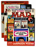 Magazines:Humor, Worst From Mad #3-5 Group (EC, 1960-62).... (Total: 3 Comic Books)