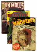 Pulps:Miscellaneous, Miscellaneous Crime and Mystery Pulps Group (Various Publishers, 1932-47) Condition: Average FR/GD.... (Total: 12 Items)