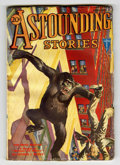 Pulps:Science Fiction, Astounding Stories - January 1932 (Street & Smith, 1932)Condition: VG....