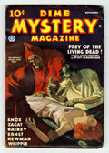 Pulps:Horror, Dime Mystery Magazine - November 1935 (Popular, 1935) Condition: VG....