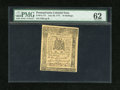 Colonial Notes:Pennsylvania, Pennsylvania July 20, 1775 10s PMG Uncirculated 62....