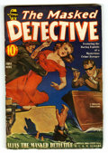 Pulps:Detective, The Masked Detective - Fall 1940 (Better Publications, 1940)Condition: FN-....
