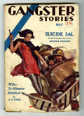 Pulps:Detective, Gangster Stories - May 1932 (Blue Band Publishing Corp., 1932)Condition: VG-....