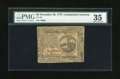 Colonial Notes:Continental Congress Issues, Continental Currency November 29, 1775 $2 PMG Choice Very Fine35....