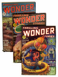 Pulps:Science Fiction, Thrilling Wonder Stories Group (Beacon, 1936-47) Condition: AverageVG.... (Total: 14 Comic Books)
