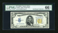 Small Size:World War II Emergency Notes, Fr. 2307 $5 1934A North Africa Silver Certificate. PMG Gem Uncirculated 66 EPQ.. ...
