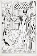 Original Comic Art:Splash Pages, John Byrne and Mike Machlan West Coast Avengers #42 Splashpage 22 Original Art (Marvel, 1989)....