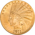 Indian Eagles, 1911-D $10 MS61 NGC....