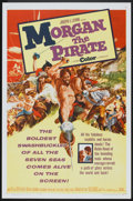 "Movie Posters:Adventure, Morgan the Pirate (MGM, 1961). One Sheet (27"" X 41""). Adventure....."
