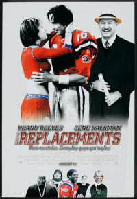 """The Replacements (Warner Brothers, 2000). One Sheets (2) (27"""" X 40"""") DS Advance & Style A. Sports"""