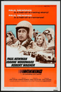 "Movie Posters:Sports, Winning (Universal, R-1973). One Sheet (27"" X 41""). Sports.. ..."