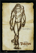"Movie Posters:Animated, Tarzan (Buena Vista, 1999). One Sheet (27"" X 40"") DS Advance. Animated.. ..."