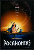 """Movie Posters:Animated, Pocahontas (Buena Vista, 1995). One Sheet (27"""" X 40"""") DS.Animated.. ..."""