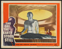 "The Day the Earth Stood Still (20th Century Fox, 1951). Lobby Card (11"" X 14""). Science Fiction"