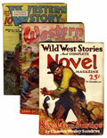 Pulps:Western, Miscellaneous Western Pulps Group (Various Publishers, 1925-51) Condition: Average GD/VG.... (Total: 12 Items)