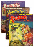 Pulps:Science Fiction, Fantastic Adventures Group (Ziff-Davis, 1939-52) Condition: AverageGD+.... (Total: 15 Items)