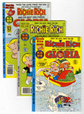 Bronze Age (1970-1979):Cartoon Character, Richie Rich and Gloria File Copy Group (Harvey, 1978-82) Condition:Average NM-.... (Total: 21 Comic Books)