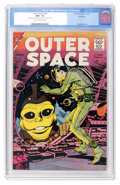 Silver Age (1956-1969):Science Fiction, Outer Space #20 Bethlehem pedigree (Charlton, 1958) CGC NM+ 9.6 Cream to off-white pages....