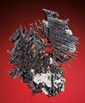 Minerals:Native Metals, NATIVE SILVER WITH ACANTHITE. ...