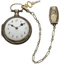 Timepieces:Pocket (pre 1900) , Swiss Verge Fusee & Chain, circa 1810. ...
