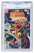 Modern Age (1980-Present):Superhero, New Teen Titans #6 (DC, 1981) CGC MT 9.9 White pages....