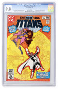 Modern Age (1980-Present):Superhero, New Teen Titans #3 (DC, 1981) CGC NM/MT 9.8 White pages....