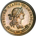 Patterns, 1870 10C Standard Silver Ten Cents, Judd-843, Pollock-942, Low R.6,PR64 NGC....