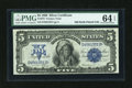 Large Size:Silver Certificates, Fr. 273 $5 1899 Silver Certificate PMG Choice Uncirculated 64 EPQ....