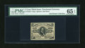 Fractional Currency:Third Issue, Fr. 1236 5c Third Issue PMG Gem Uncirculated 65 EPQ....
