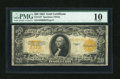 Fr. 1187 $20 1922 Gold Certificate PMG Very Good 10
