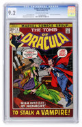 Bronze Age (1970-1979):Horror, Tomb of Dracula #3 (Marvel, 1972) CGC NM- 9.2 Off-white to whitepages....