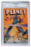 Golden Age (1938-1955):Science Fiction, Planet Comics #48 (Fiction House, 1947) CGC Qualified VG+ 4.5....