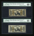 Fractional Currency:Third Issue, Two Different Justices.. ... (Total: 2 notes)