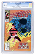 Modern Age (1980-Present):Superhero, Daredevil #254 (Marvel, 1988) CGC NM/MT 9.8 White pages....