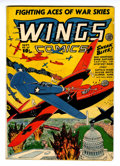 Golden Age (1938-1955):War, Wings Comics #37 (Fiction House, 1943) Condition: FN-....