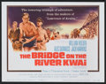 "Movie Posters:War, The Bridge On The River Kwai (Columbia, R-1963, R-1970, R-1974)).Title Lobby Card (11"" X 14""), Lobby Cards (3) (11"" X 14""),...(Total: 20 Items)"