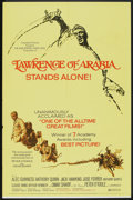 "Movie Posters:War, Lawrence of Arabia (Columbia, R-1971). One Sheet (27"" X 41"") andPressbook (Multiple Pages, 14"" X 17.25""). War.. ... (Total: 2Items)"